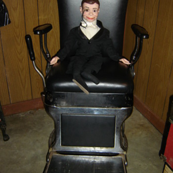 Antique Barber Chair - Furniture