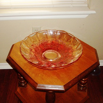 "12"" Glass Bowl, Heavy"