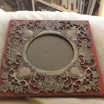 Antique picture frame?  - Sterling Silver