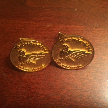 Vintage Thunderbird Hotel & Casino Cufflinks - Accessories