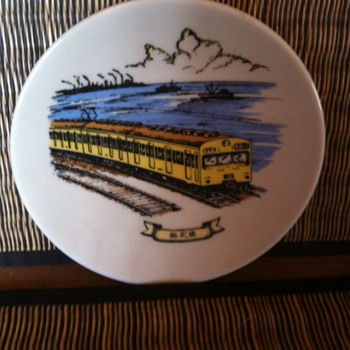 Japanese Trains - Collector Plates?