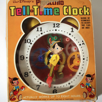 Toy Pinocchio Clock - Clocks