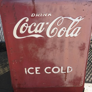 Not sure what to do with my Coca Cola ice chest?