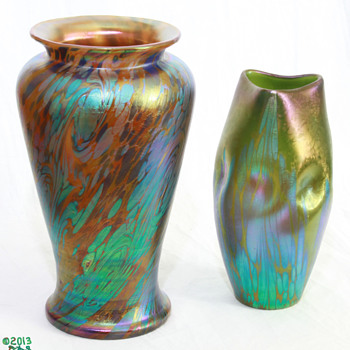 Loetz PG 1/475 with Family Friends - Art Glass