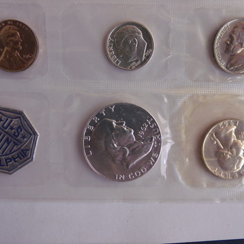 1962 Philadelphia Proof Set - US Coins