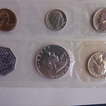 1962 Philadelphia Proof Set - US Coins