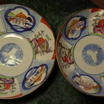 Two more Imari Bowls - Asian