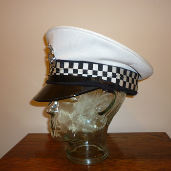 1970's British Police Traffic Police cap (cover)