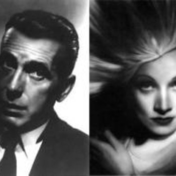 Portfolio - Humphrey Bogart & Marlena Dietrich signed and numbered  159/250