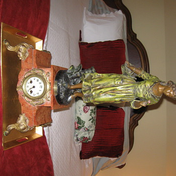Rare  C-1900  French clock  Par Rancoulet,  Premier Gage - Clocks