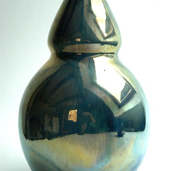 huge lustre pottery vase by ALPHONSE CYTERE - RAMBERVILLERS - Art Deco