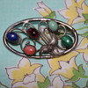 Sterling Silver Brooch