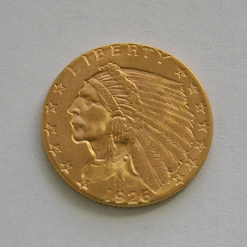 Gold Coin 1926 Indian Head - US Coins