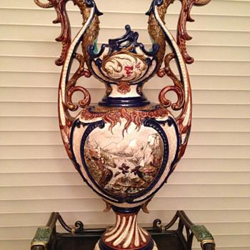 Nanna's vase - Art Pottery