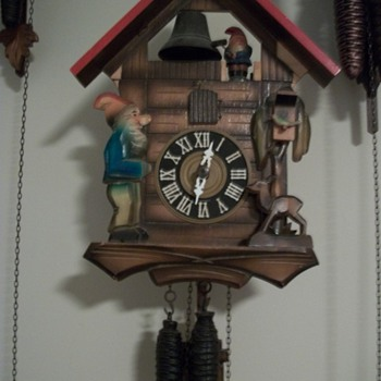 1 day German cuckoo clock