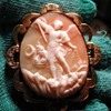 Cameo of St Michael and the devil