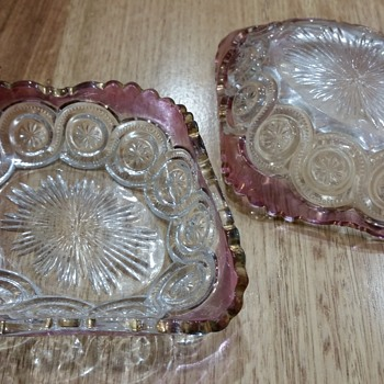 Pretty glass dishes