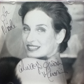Andrea Marcovicci Autographed CD Covers - Music