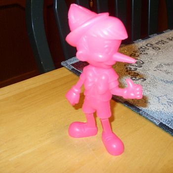 yes a marx pink pinnochio - Toys