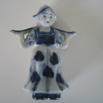 Dutch Girl Knick-Knack - Art Pottery