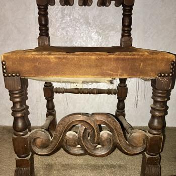 Antique chair. Unknown