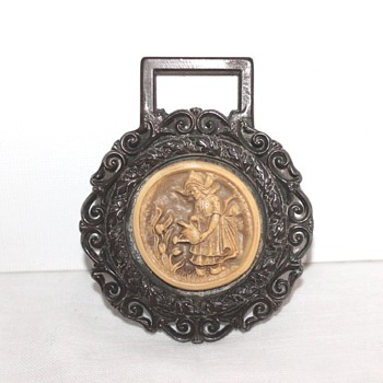 Dutch style plaque, similar to horse brass