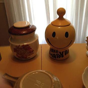 My McCoy cookie jars. - Kitchen