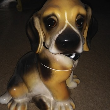 Dog cookie jar