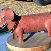 Sheet-metal Fabricated Dogs named 'Spike'