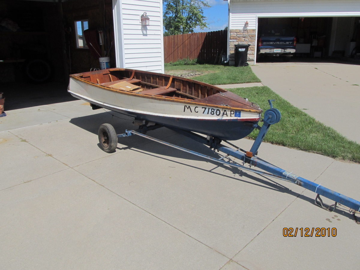 acquired 12 foot wooden fishing boat collectors weekly