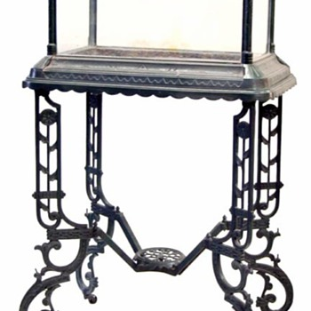 1882 Klepper Aquarium and Stand - Victorian Era