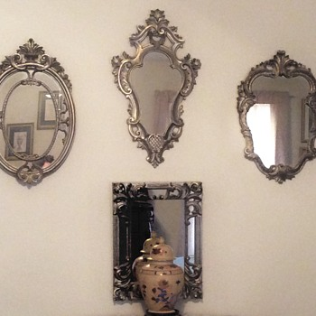 Set of four mirrors