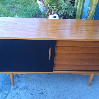 Mid Century Mystery Credenza....