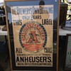 One of the oldest Anheuser Busch posters