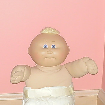 My old Original 1982 Soft Body Cabbage Patch Kid. Baxter Jack - Dolls