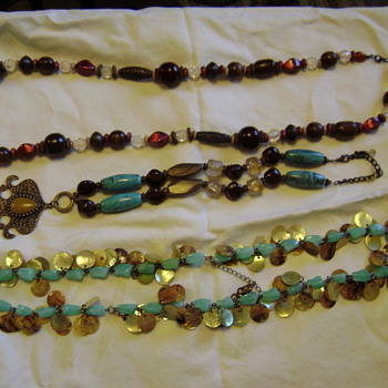 Necklace Finds - Costume Jewelry
