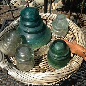 GIANT Glass Insulator - Tools and Hardware