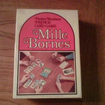 ~~My 1964 Mille Bornes Game, made by Parker Brothers~~