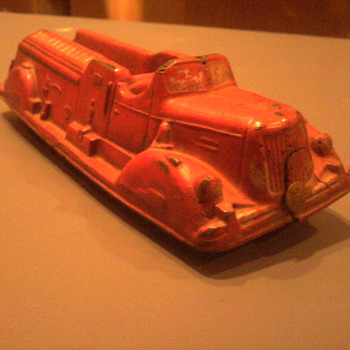 Old Auburn fire engine....   - Model Cars