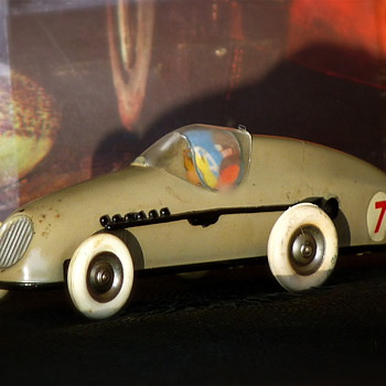 Tri-ang Minic Motors Clockwork Tin Toy Model Racer M13