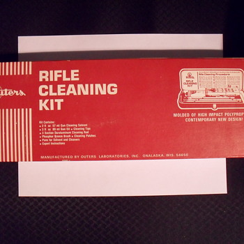 Outers Rifle cleaning kit. - Sporting Goods