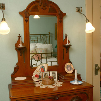 Great Grandmother's Eastlake Vanity - Furniture