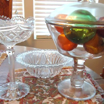 old glass, what kind? - Glassware