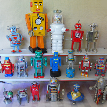 Robot collection - Toys