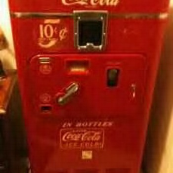 Coke Machine. Ray I know you know.