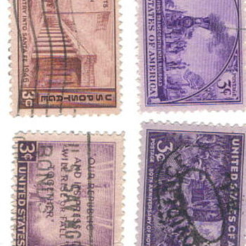 Great stamps of the USA - Stamps