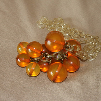 Bubble Lucite Necklaces - Costume Jewelry