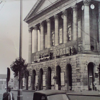 1966-birmingham-uk-town hall-halina paulette electric. - Photographs