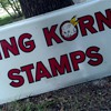 King Korn Stamps vintage sign