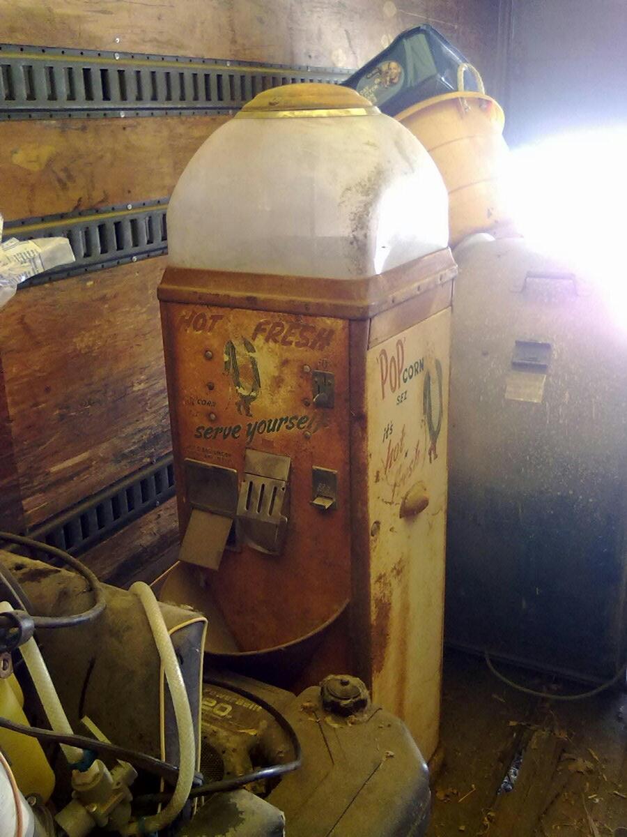 Vintage Popcorn Machine Pop Corn Sez Collectors Weekly